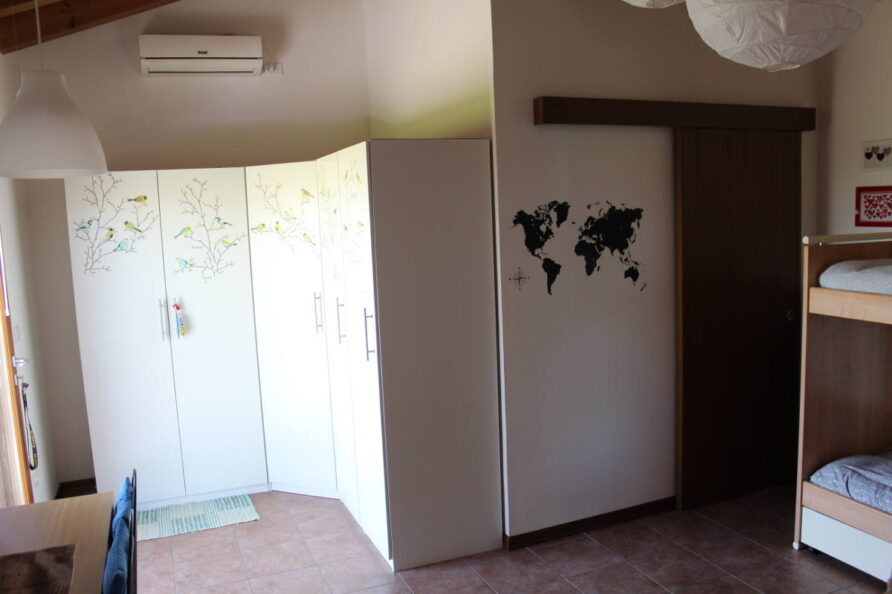 Camera familiare con climatizzatore