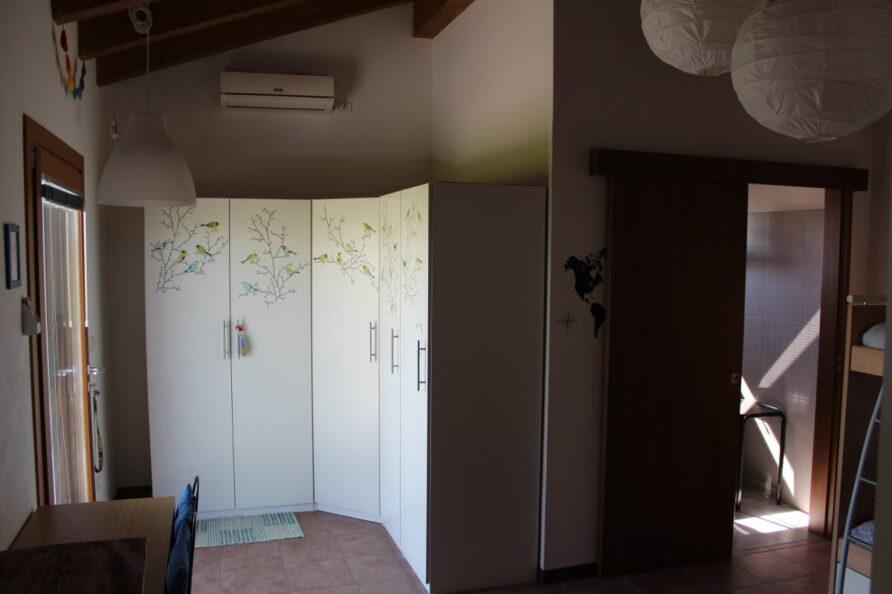 Camera familiare con bagno
